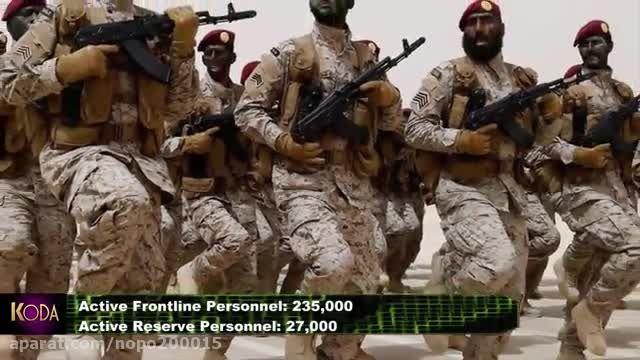 قدرت نظامی ایران و عربستان