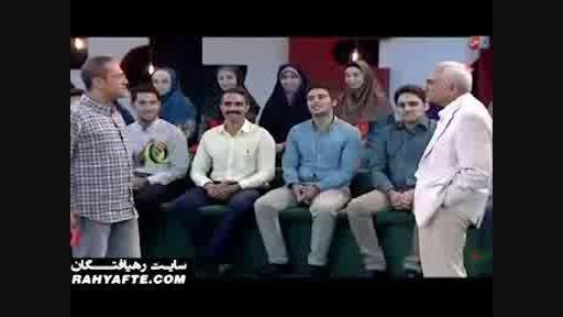 ناصر ممدوح دوبلور و بازیگر  در خندوانه