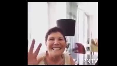 خوشحالی مادر رونالدو از 5 گل کریس مقابل اسپانیول