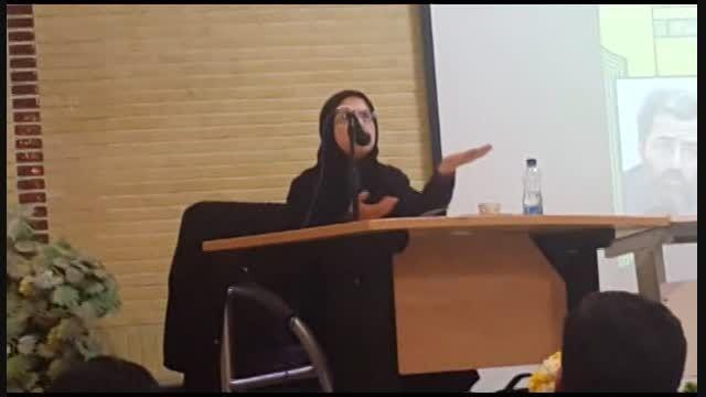 سخنرانی سرکار خانوم الهه کولایی در دانشگاه صنعتی قم
