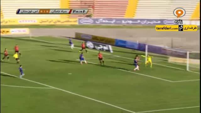 خلاصه بازی سیاه جامگان 0 - 1 استقلال خوزستان