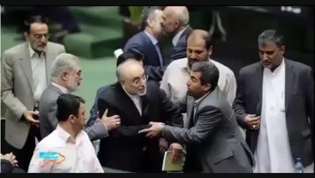 فریاد های صالحی در مجلس