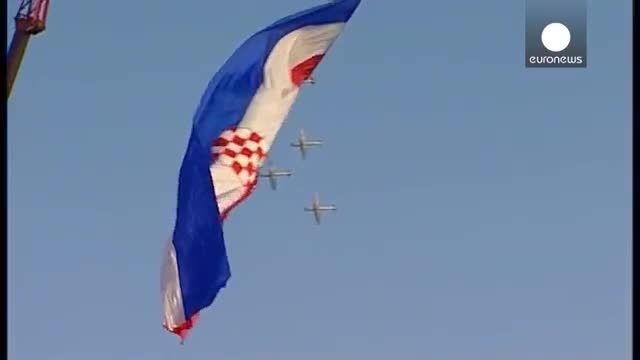 جشن استقلال در کرواسی و گرامیداشت یاد قربانیان