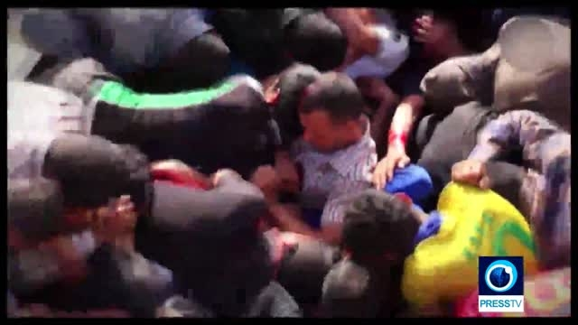 قتل عام سربازان پادگان اسپایکر توسط داعش