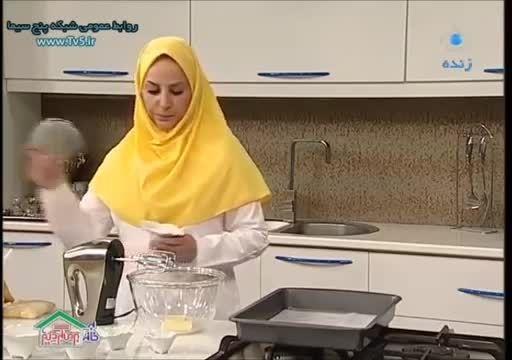 آشپزی شیرینی بادامی تبریز