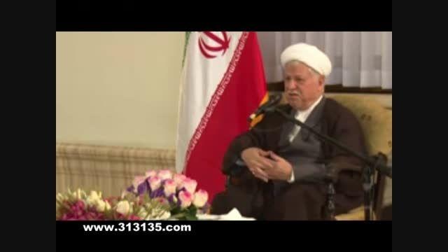 حجت الاسلام رفسنجانی: تشبیه دولت قبلی به مرض هاری!