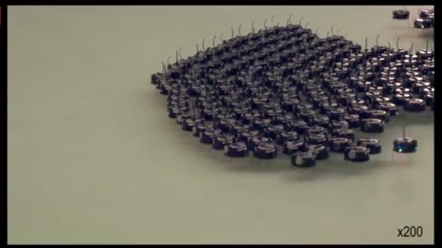 چیدمان هوشمند تصاویر با کوچکترین ربات ها