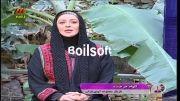 عیدانه گلخانه با حضور بازیگران مجموعه آوای باران پارت 1