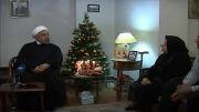 دیدار رییس جمهوربا خانواده شهیدان موسسیان-شهیدان مسیحی