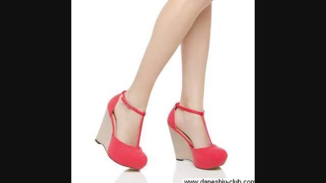 کفش های دخترونه صورتی