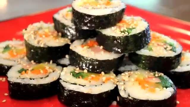 انٹی کی چدائی آموزش پخت غذای کره ای