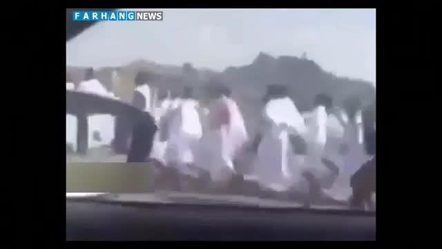 فیلم منتشر شده از تعقیب و گریزبازداشت زائران ایرانی