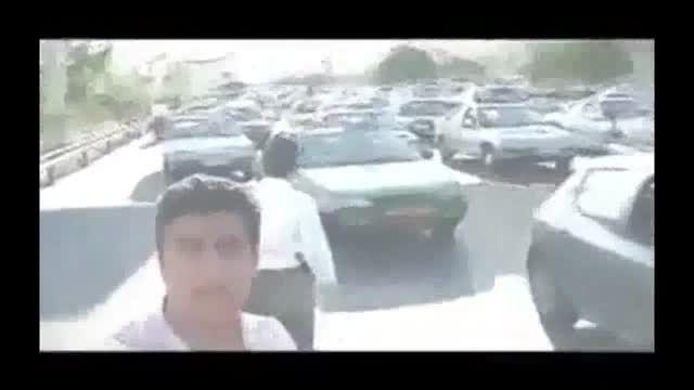 اینم وضعیت رانندگی بچه پولدار ها در ایران