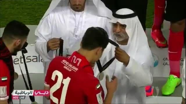 الاهلی امارات قهرمان سوپر جام امارات شد