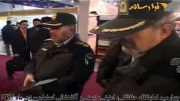 بازدید مقامات انتظامی استان و اهدای لوح تقدیر با حضور م