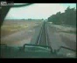 برخورد دو قطار