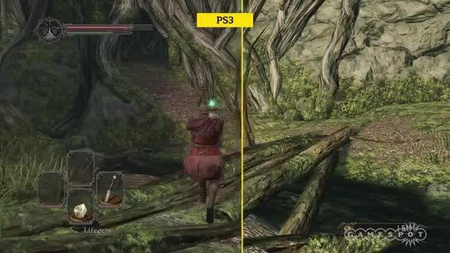 مقایسه نسخه های پلی استیشن 3 و پلی استیشن 4 بازی Dark Souls 2