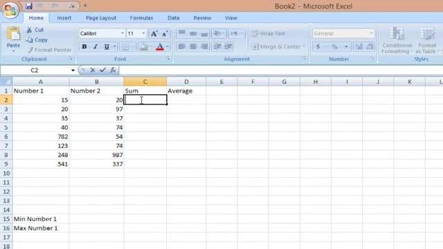 آموزش اکسل جلسه ی دوم-فرمول نویسی و محاسبات ریاضی