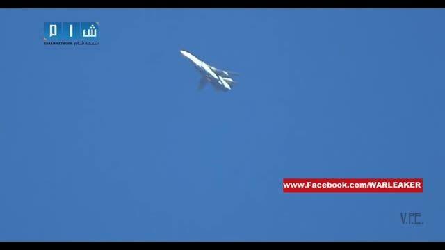 حمله هوایی روسیه به مواضع تروریست های سوری