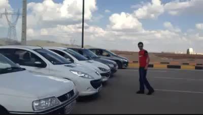 اولین تست شتاب خودرو های داخلی بعد از گرانی ...