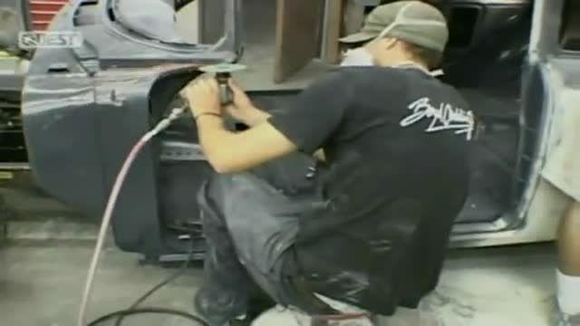 بازسازی ماشینهای قدیمی 3 - دی دیل