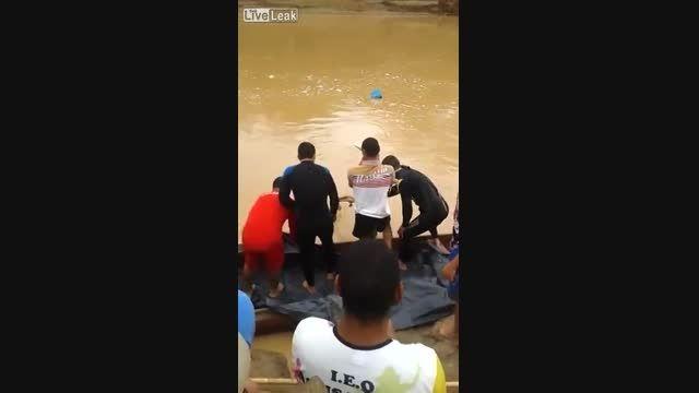 وحشتناک - نوجوان 14 ساله پس از غرق شدن