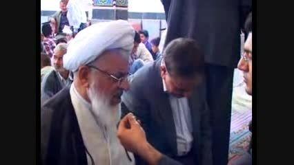 جشن میلاد امام حسن مجتبی ۹۳ و بازدید امام جمعه