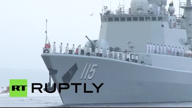 ورود ۷ ناو چینی به سواحل روسیه