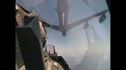 سوختگیری هوایی جنگنده های اسرائیلی