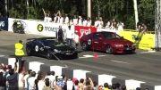 درگ تایمز 2013: رقابت مرسدس SL65 سری سیاه