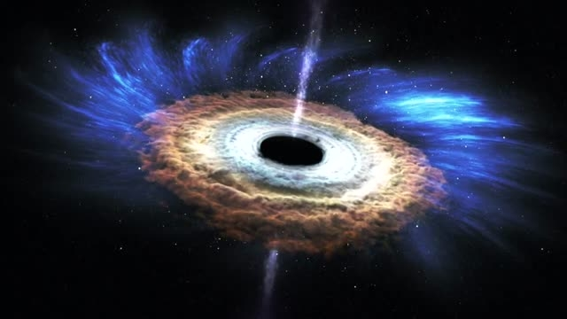 سیاهچاله اینگونه یک ستاره را می بلعد