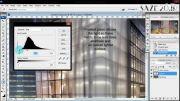 آموزش تبدیل شیشه براق به شیشه مات در پست پرو فتوشاپ