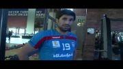 هاشم بیگ زاده در تمرین بدنسازی تیم ملی