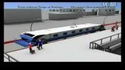 ابتکاری که با آن مترو بدون توقف مسافران خود را پیاده یا