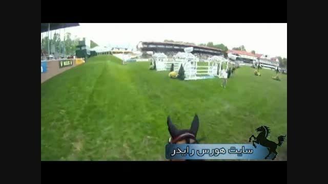 تجربه ی پرش با اسب بصورت مجازی