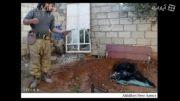 داعش اجساد اعضای خود را آتش می زند ....