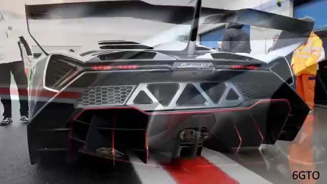 تست سرعت و مقاومت لامبورگینی Veneno در پیست مسابقه