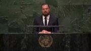 سخنرانی دی کاپریو در سازمان ملل