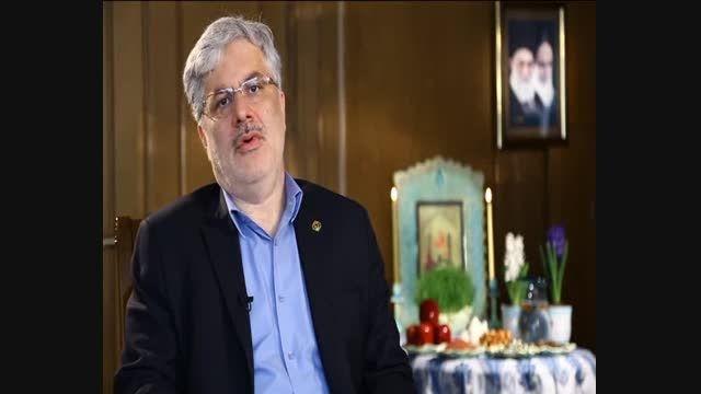 فیلم پیام تبریک دکتر سید تقی نوربخش به مناسبت سال 1393