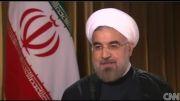 پیام صلح روحانی به زبان انگلیسی در CNN