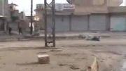 شکار دو داعشی با قناصه هنگام فرار  - عراق -سوریه