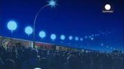 وقتی دیواری از نور جایگزین دیوار برلین می شود