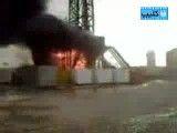 انفجار مهیب چاه نفت کرمانشاه (نبینی ضرر کردی)