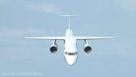 نجات جان مسافران هواپیما در هنگام بروز حادثه