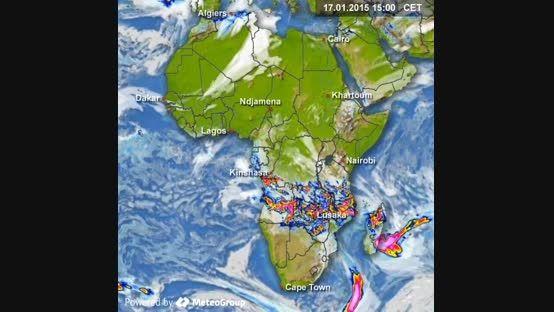 پیش بینی بارش 27 دی الی 30