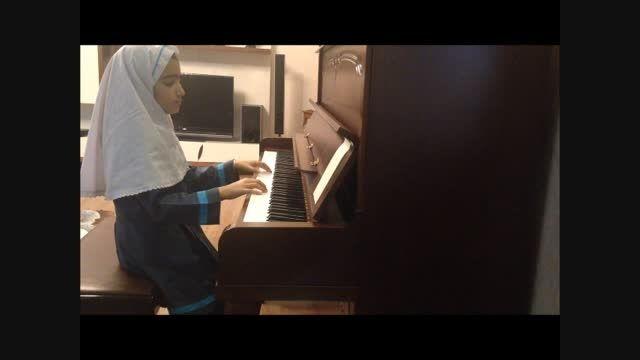 پیانیست جوان-پرنیا نظری-سلطان قلبها(انوشیروان روحانی)