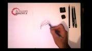 نقاشی با مداد  محمدتقی انصاری