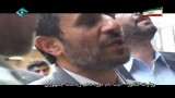 لحظه ثبت نام احمدی نژاد برای انتخابات ریاست جمهوری 88