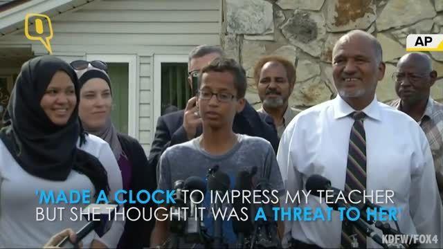 پسر مخترع نوجوان بمب گذار به دیدار اوباما رفت