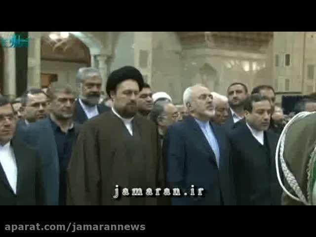 تجدید میثاق وزیر امور خارجه و سفرای ایران